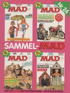 Go to Sammel MAD #24 • Germany • 1st Edition - Williams