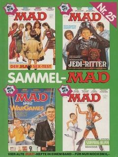 Go to Sammel MAD #25 • Germany • 1st Edition - Williams