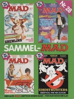 Go to Sammel MAD #28 • Germany • 1st Edition - Williams