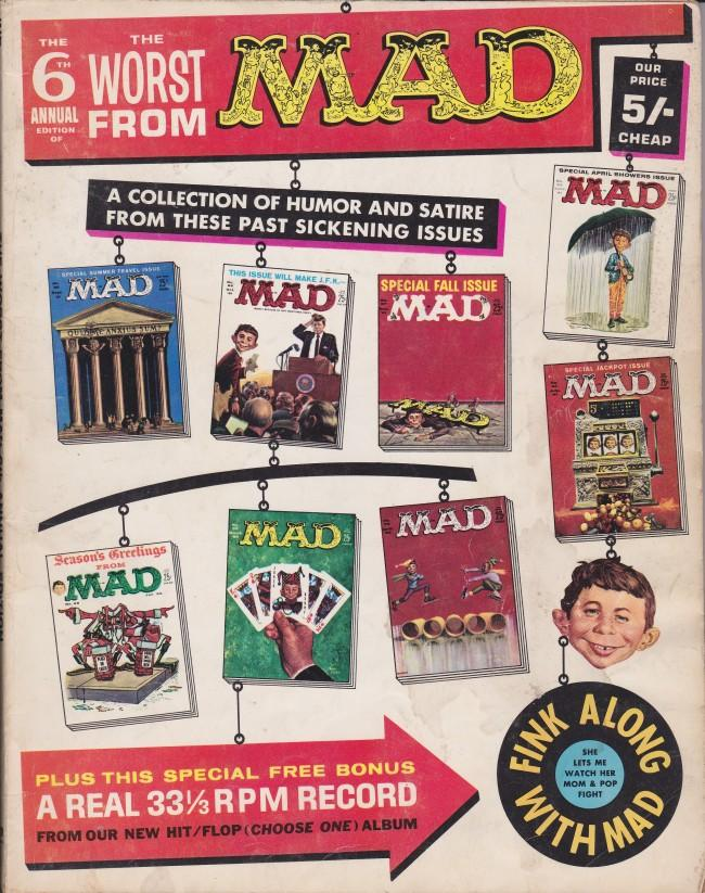 The Worst from MAD #6 • Great Britain