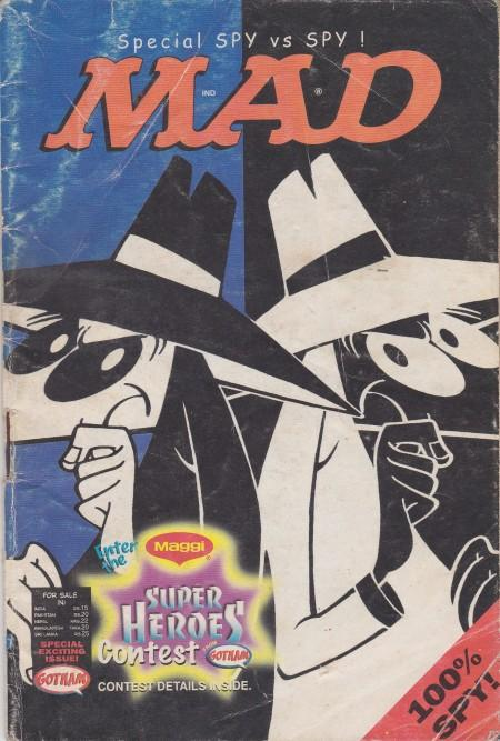 Maggi Promo Booklet: MAD Spy vs. Spy Special • India