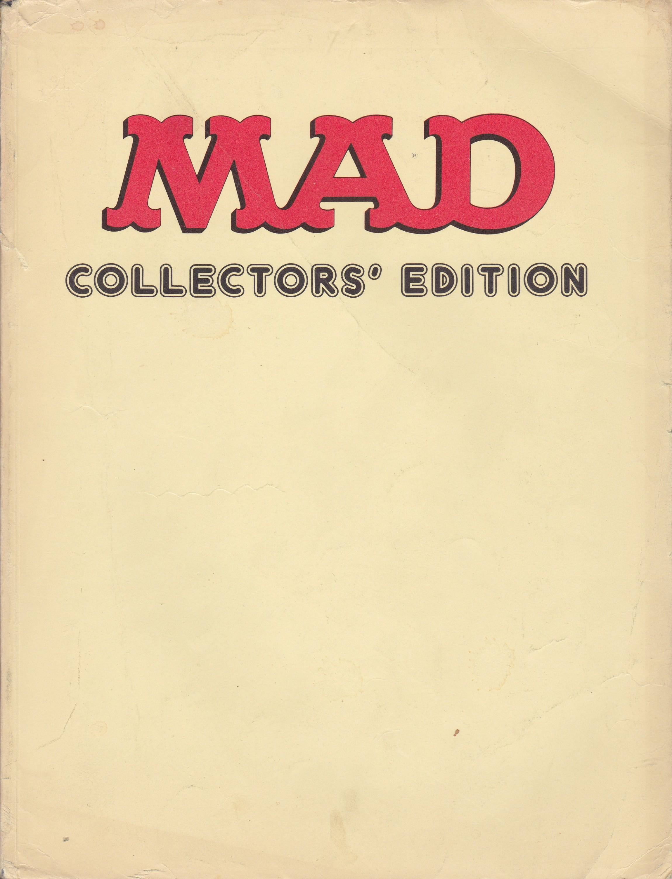 MAD Collectors' Edition 1982 #1 • Great Britain