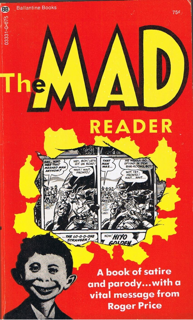 The Mad Reader #1 • USA • 1st Edition - New York