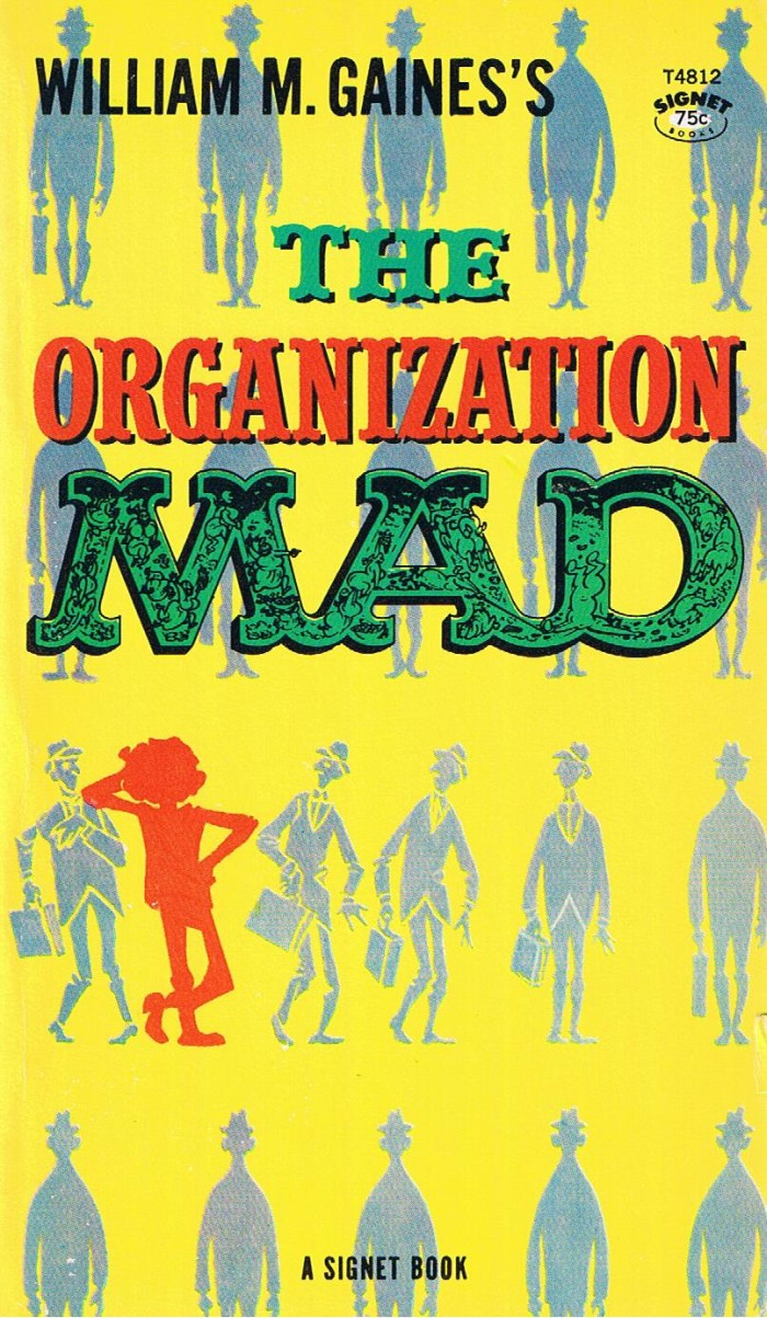 The Organization Mad (Signet) #8 • USA • 1st Edition - New York