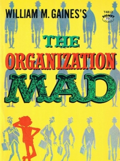 Go to The Organization Mad #8 • USA • 1st Edition - New York