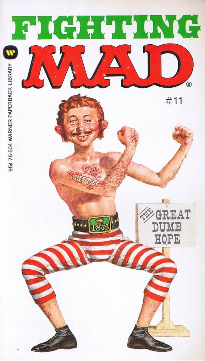 Fighting Mad (Warner) #11 • USA • 1st Edition - New York