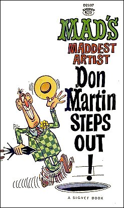 Don Martin Steps Out • USA • 1st Edition - New York