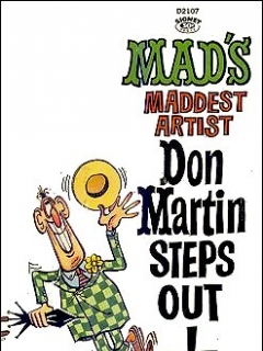 Go to Don Martin Steps Out • USA • 1st Edition - New York