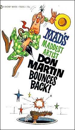 Don Martin Bounces Back • USA • 1st Edition - New York