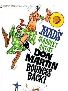 Go to Don Martin Bounces Back • USA • 1st Edition - New York