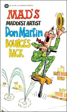 Don Martin Bounces Back • USA • 1st Edition - New York