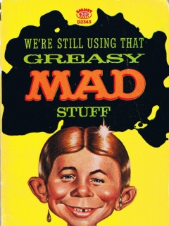 Greasy Mad Stuff #15 • USA • 1st Edition - New York