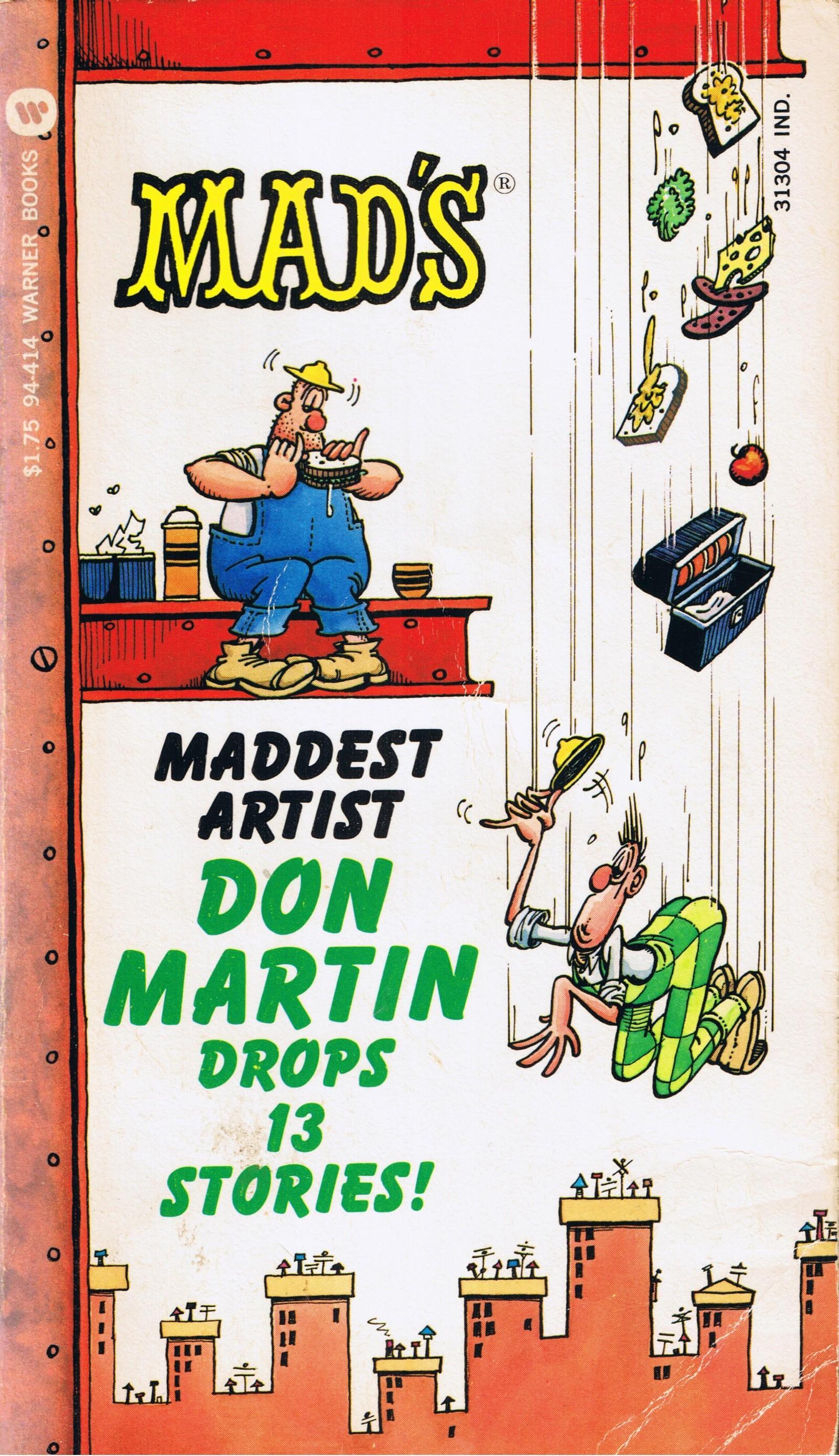 Don Martin Drops Thirteen Stories (Warner) • USA • 1st Edition - New York