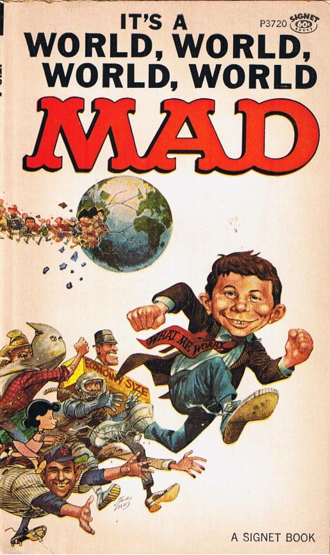 Its a World World, World, World, Mad #19 • USA • 1st Edition - New York