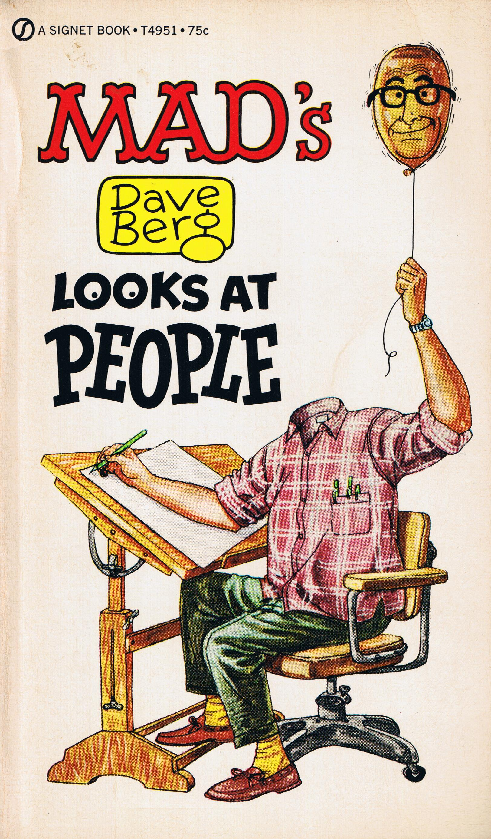 Dave Berg looks at People (Signet) • USA • 1st Edition - New York