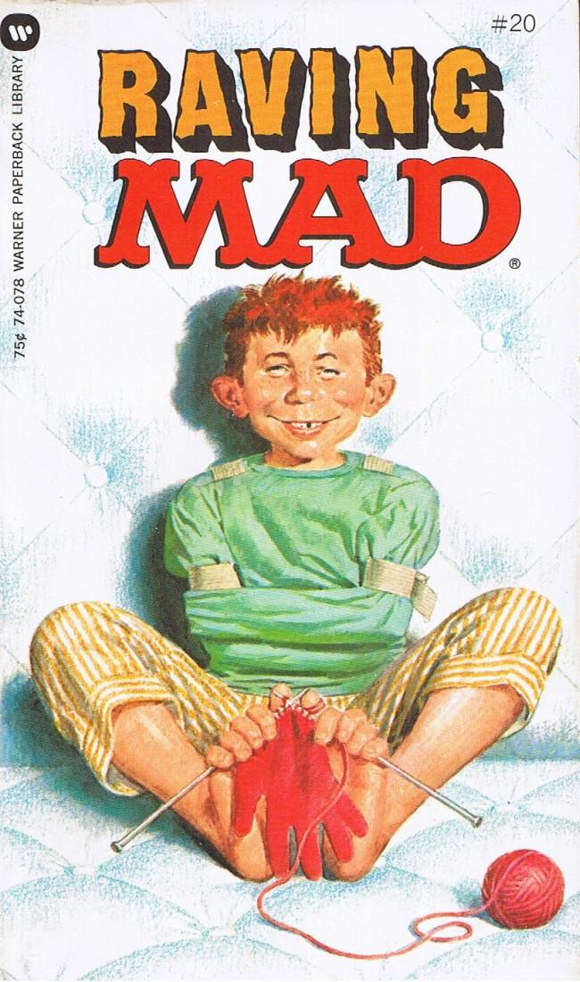 Raving Mad #20 • USA • 1st Edition - New York