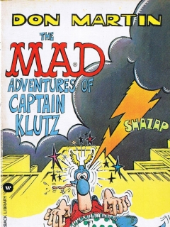 The Mad Adventures of Captain Klutz • USA • 1st Edition - New York