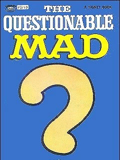 Go to The Questionable Mad #22 • USA • 1st Edition - New York