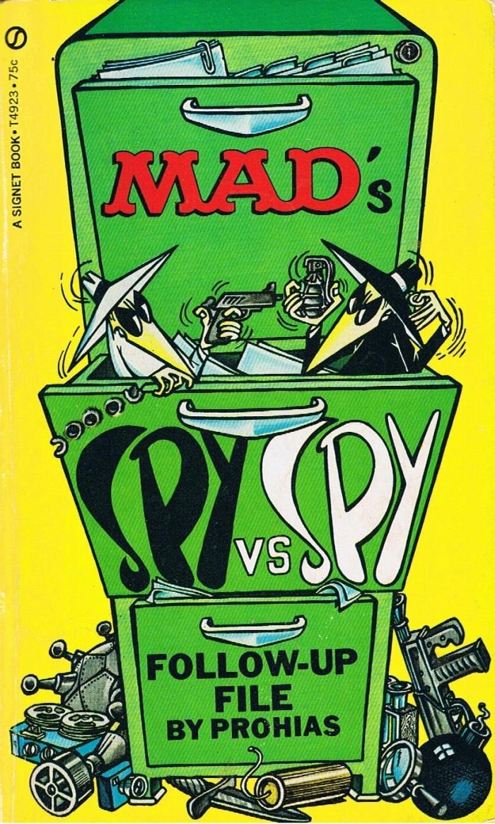 Spy vs Spy Follow-Up File (Signet) • USA • 1st Edition - New York