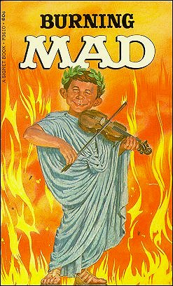 Burning Mad #25 • USA • 1st Edition - New York
