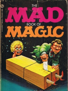 Go to The Mad Book of Magic and Other Dirty Tricks • USA • 1st Edition - New York