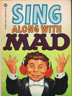 Go to Sing Along With Mad • USA • 1st Edition - New York