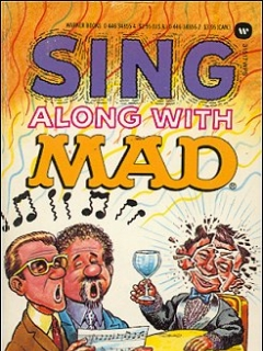 Sing Along With Mad • USA • 1st Edition - New York