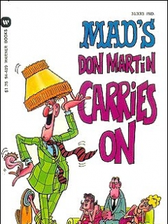 Go to Don Martin Carries On • USA • 1st Edition - New York