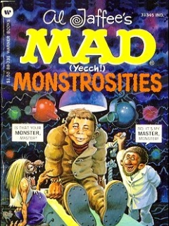 Go to Mad (Yeech!) Monstrosities • USA • 1st Edition - New York