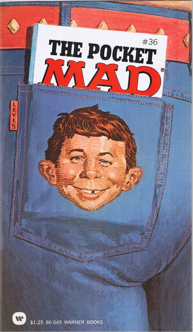 The Pocket Mad #36 • USA • 1st Edition - New York