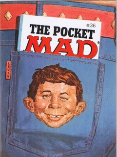Go to The Pocket Mad #36 • USA • 1st Edition - New York