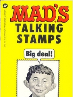 Go to Mads Talking Stamps • USA • 1st Edition - New York
