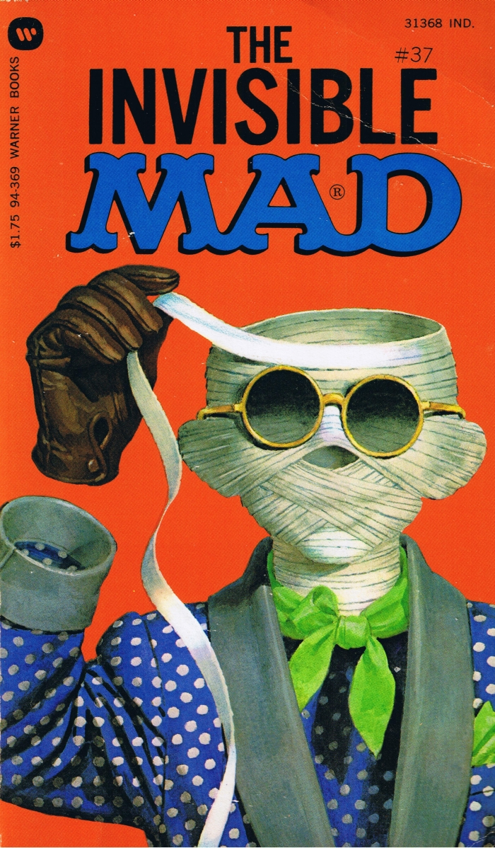 The Invisible Mad #37 • USA • 1st Edition - New York