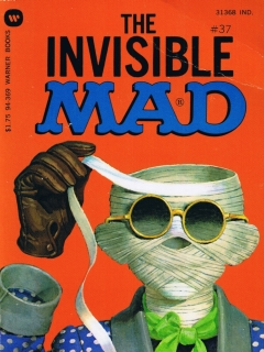 Go to The Invisible Mad #37 • USA • 1st Edition - New York