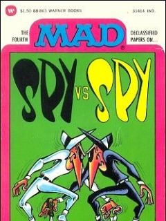 Go to The Fourth Mad Declassified Papers on Spy vs Spy • USA • 1st Edition - New York