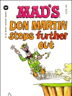 Go to Don Martin Steps Further Out • USA • 1st Edition - New York