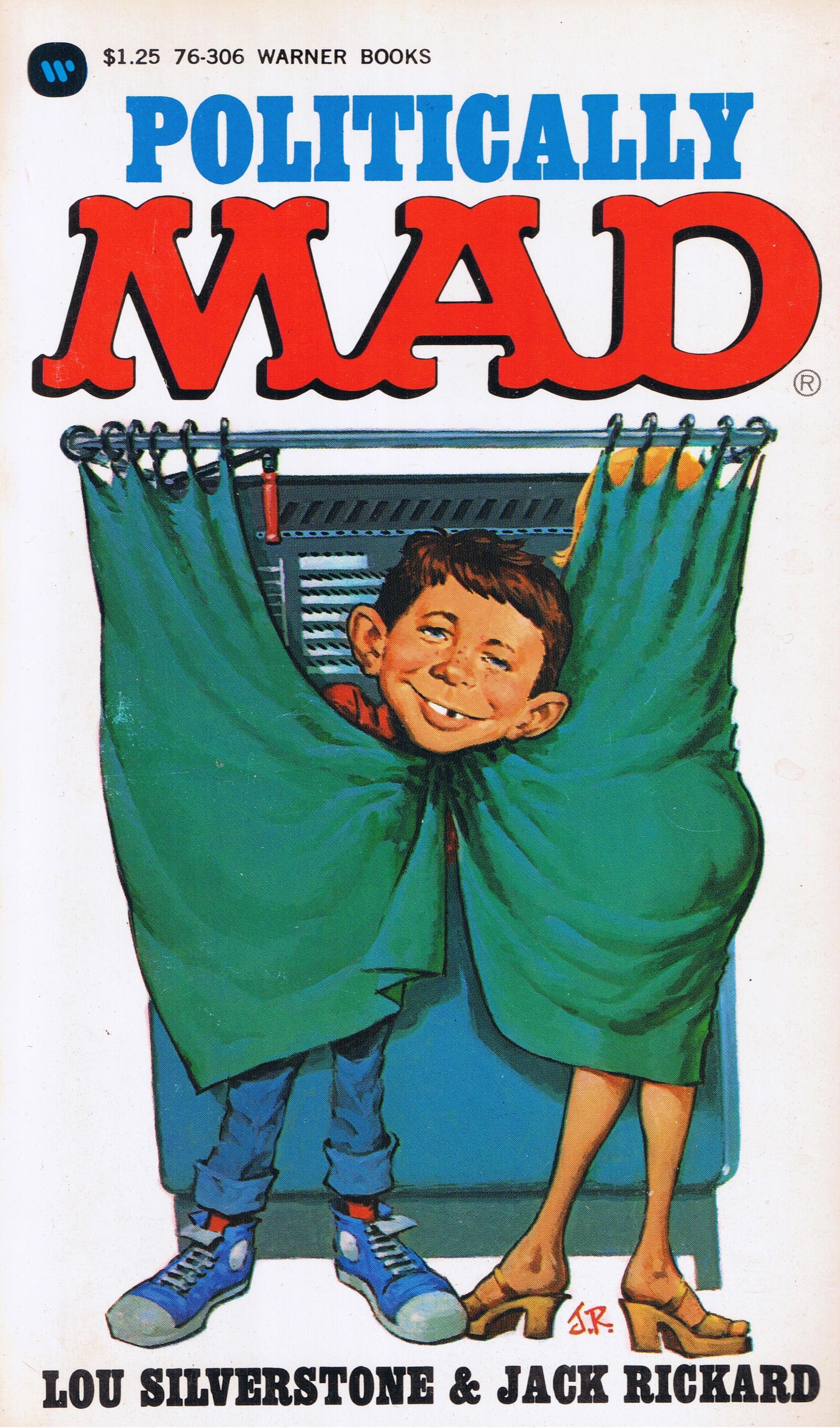 Lou Silverstone: Politically Mad • USA • 1st Edition - New York