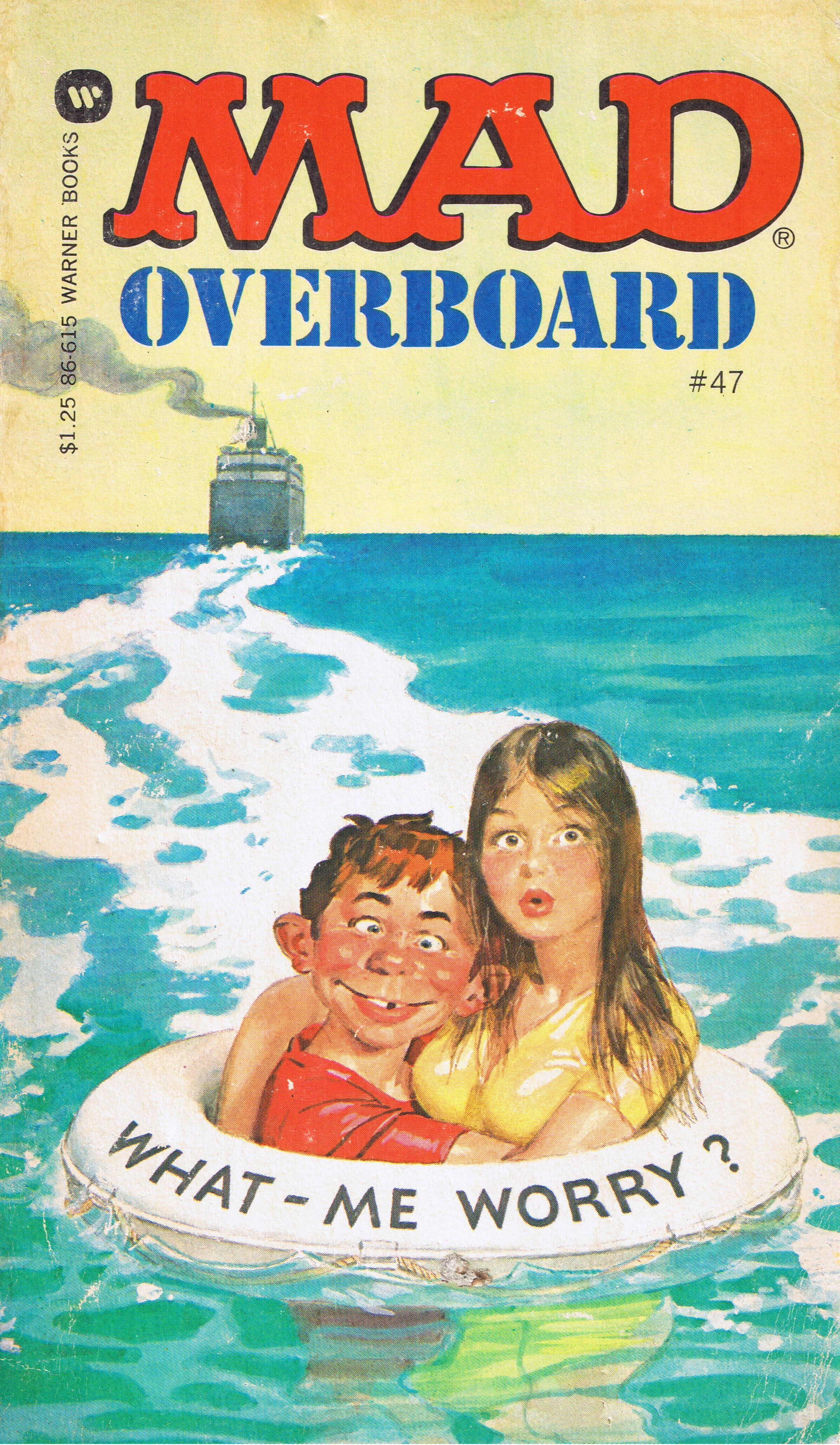 Mad Overboard #47 • USA • 1st Edition - New York