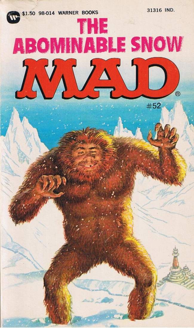 The Abominable Snow Mad #52 • USA • 1st Edition - New York
