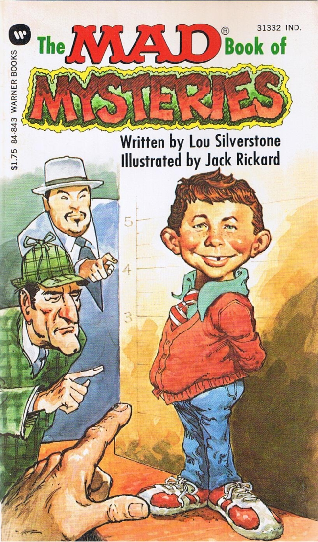 Lou Silverstone: The Mad Book of Mysteries • USA • 1st Edition - New York