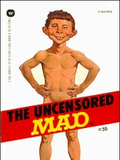 Go to The Uncensored Mad #55 • USA • 1st Edition - New York