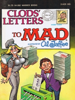 Go to Clods Letters to Mad