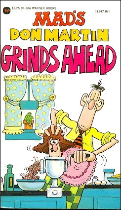 Don Martin grinds Ahead • USA • 1st Edition - New York