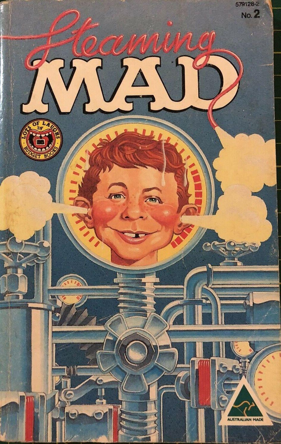 MAD Paperbacks • Australia • 1st Edition