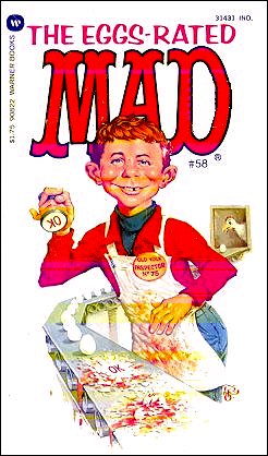 The Eggs-rated Mad #58 • USA • 1st Edition - New York
