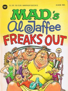 Go to MAD's Al Jaffee Freaks Out
