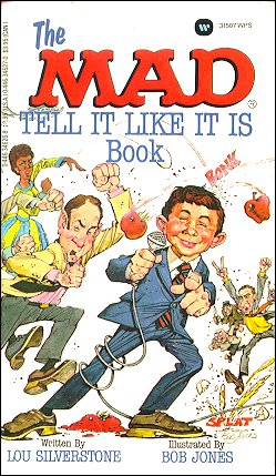 The Mad Tell It Like It Is Book • USA • 1st Edition - New York