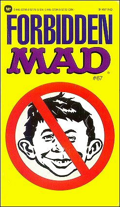 Forbidden Mad #67 • USA • 1st Edition - New York