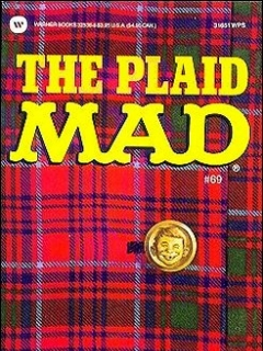 Go to The Plaid Mad #69 • USA • 1st Edition - New York