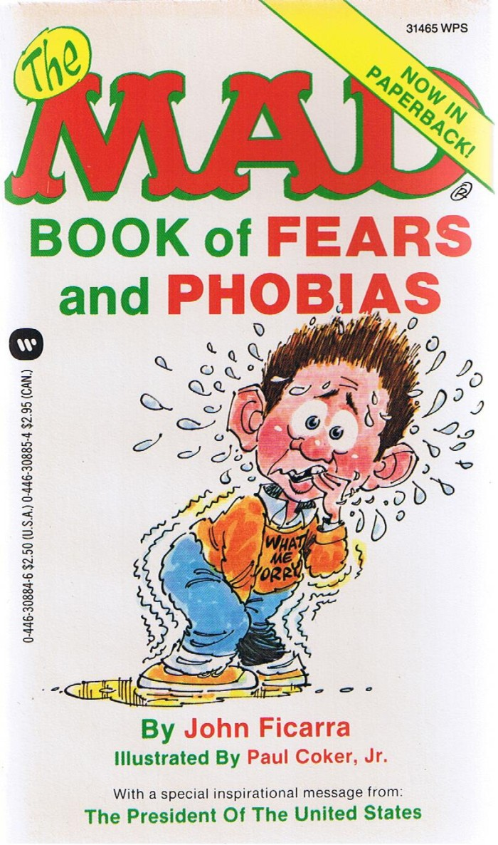 The Mad Book of Fears and Phobias • USA • 1st Edition - New York